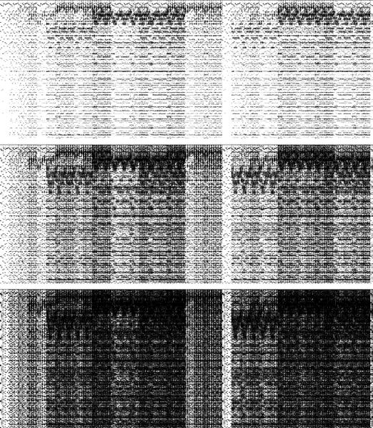 Fractal spectrogram